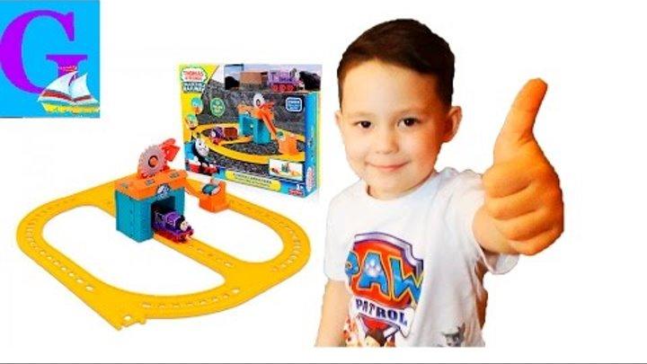 Игрушки для детей THOMAS & FRIENDS Детский канал ВИДЕООБЗОР игровой набор Паровозик Чарли за работой