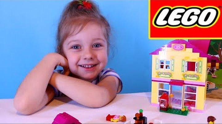 Лего Семейный Домик 10686. Распаковка игрушки Лего. Игры для детей. Unboxing Lego Juniors