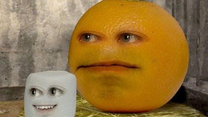 Annoying Orange - Sneezing Marshmallow (Sneezing Baby Panda Spoof)