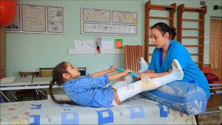 2 часть. Эффективное лечение ДЦП гипсовыми повязками. Сергиенко Карина. 2016 год