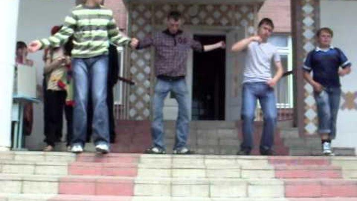 Танець «Тектонік» учнів Понінківського НВК - 01.06.2009