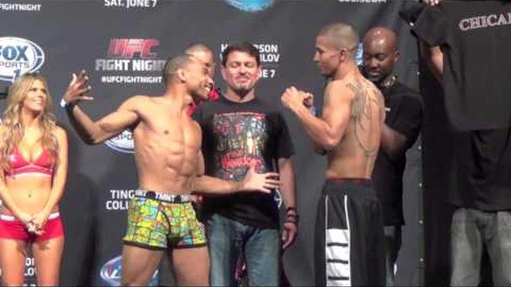 UFC Fight Night 42 Albuquerque Weigh Ins Benson Henderson vs. Rustam Khabilov