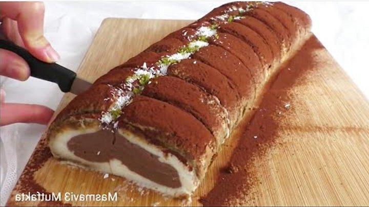 20 dakikada Şahane RULO PASTA tarifi(Çikolatalı)-Firin gerekmiyor-Masmavi3Mutfakta▪