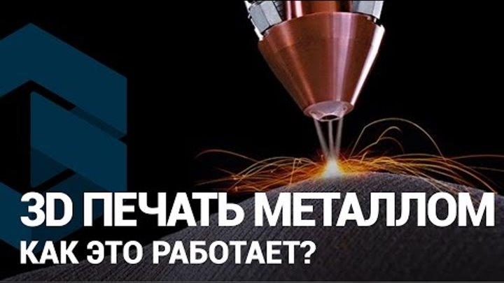 3D печать металлом на 3D принтере. О технологии