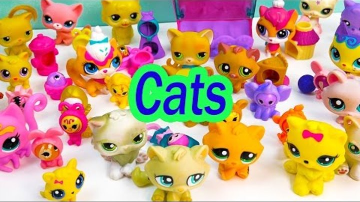 LPS Collection Tour Haul Video Bobblehead Littlest Pet Shop Kitty Cats Cookieswirlc Part 3 Toys