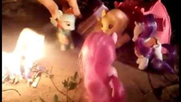 """Сериал """"Пони в поисках амулета Ночи"""" Serial about pony 3 серия 1 сезон MLP:FIM"""