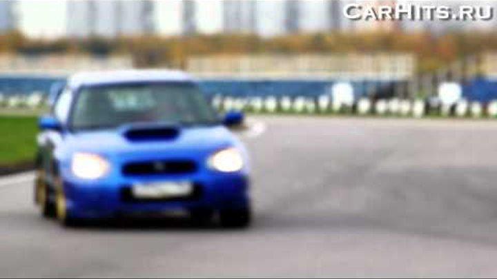 Subaru STI. Большие гонки Тушино Ринг 2011