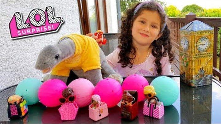Мои подарки из ЛОНДОНА! МИСС КЕЙТИ подарила АЛИС новые ШАРЫ ЛОЛ! Ищем ЛОЛ Сюрпризы в шариках ОРБИЗ!