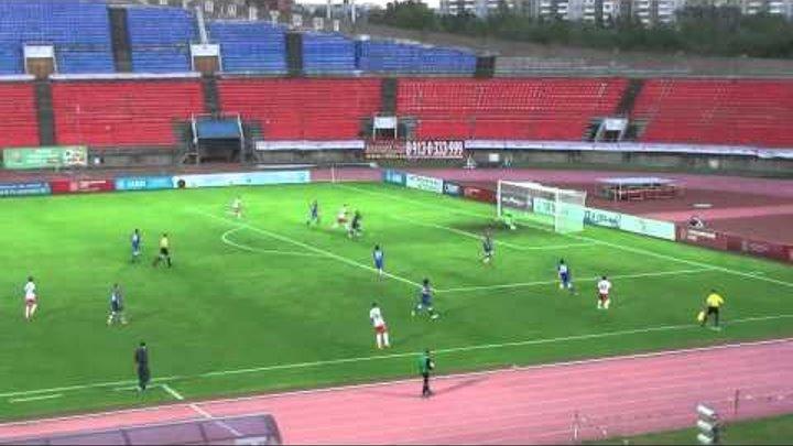 Обзор матча «Енисей» - «Спартак-2». ФНЛ. 5 тур. Сезон 2015-2016
