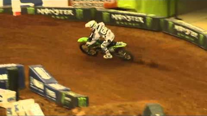 Supercross LIVE! 2012 - 2 Minutes on the Track in Atlanta - Lites First Practice