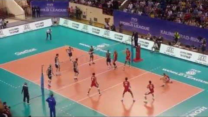 Волейбол Мужчины Большой Чемпионский Кубок Россия США 2014