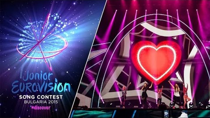 Junior Eurovision Song Contest 2015: Ivana & Magdalena (F.Y.R. Macedonia) first rehearsal