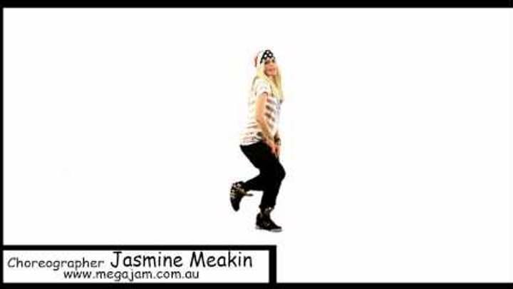 'How Low Can You Go' tutorial part 2 (choreography by Jasmine Meakin... Mega Jam)