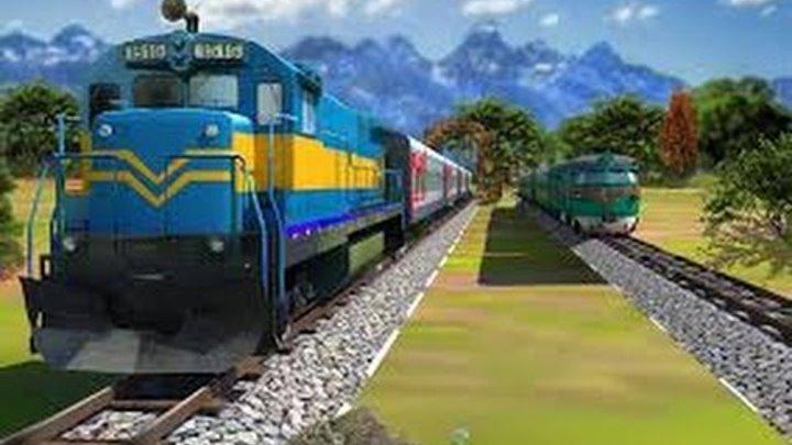 Мультики про паровозики и поезда. Мультфильмы для детей. Развивающие Детские мультики. Ноябрь 2016