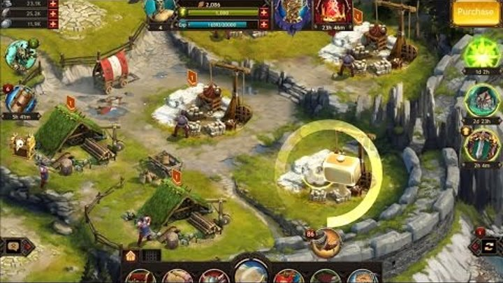 Vikings War of the clans Android IOS PC Multiplayer (Gameplay) Strategy game