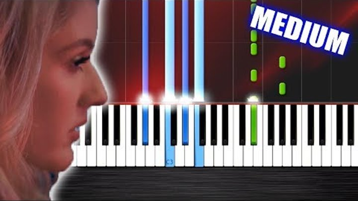 Ellie Goulding - Love Me Like You Do - Piano Cover/Tutorial by PlutaX - Synthesia