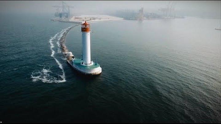 Воронцовский маяк Одесса 2016 Lighthouse Odessa с высоты птичьего полета bird's eye