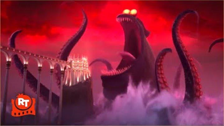Hotel Transylvania 3 (2018) - Dracula vs the Kraken Scene (9/10) | Movieclips