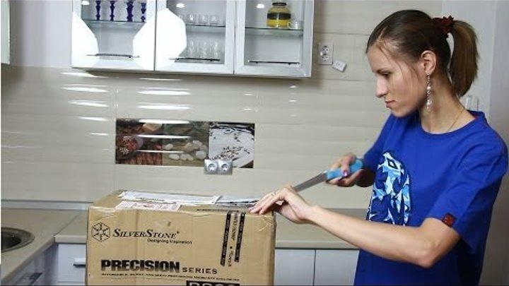Unboxing mATX SilverStone Precision PS09 (немножко беременна)