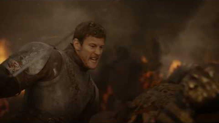 Игра престолов. Дейенерис орда дотракийцев атакуют войско Ланнистеров