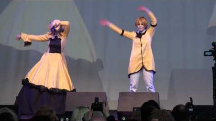 Cosplay Vocaloid Trick and Treat and Love & Joy Len & Rin Kagamine Japan Expo Sud 2011