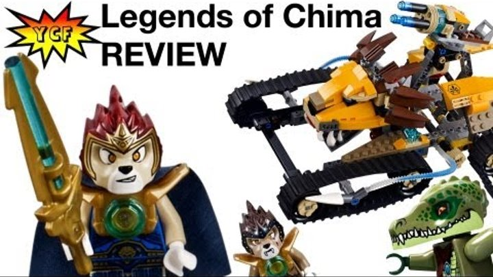 LEGO Chima Laval's Royal Fighter 70005 Review Legends of Chima 2013