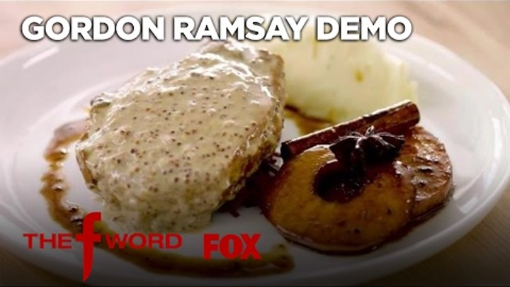 Gordon Ramsay's Pan Seared Pork Chop -- Extended Version | Season 1 Ep. 2 | THE F WORD