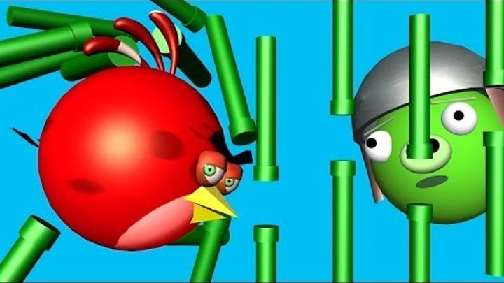 ANGRY BIRDS vs. FLAPPY BIRD ♫ 3D animated Game mashup ☺ FunVideoTV - Style ;-))