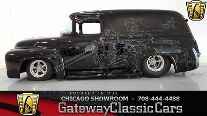 1956 Ford F100 Panel Truck Gateway Classic Cars Chicago #698