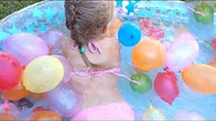 ✽ БОЛЬШОЙ Бассейн с Шариками! Игрушки Вспыш и его Друзья Games for Kids in the pool with Toys