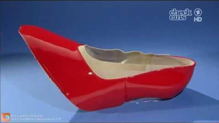 Как делают женские туфли - просто невозможно глаз оторвать!