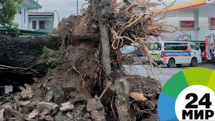 Жертвами тайфуна «Мангхут» на Филиппинах стали 25 человек - МИР 24