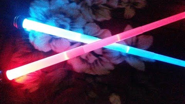 распаковка световой меч джедай звездные войны Star Wars Lightsaber Light Sword aliexpress