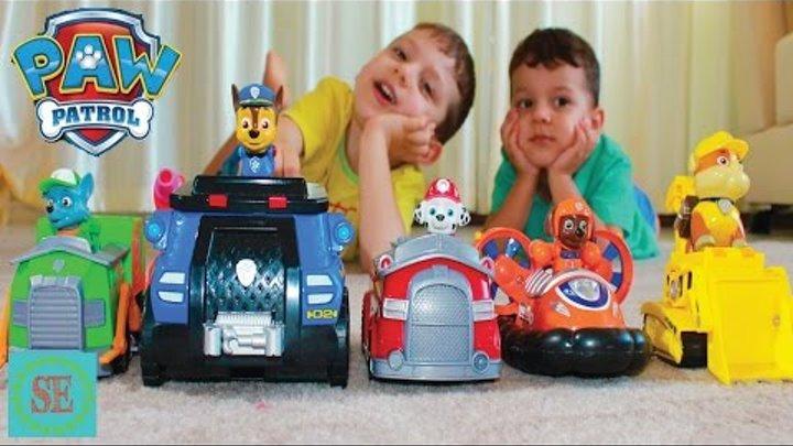 Щенячий патруль Спасение Маши от Миньонов Новые серии Видео для детей Paw patrol toys