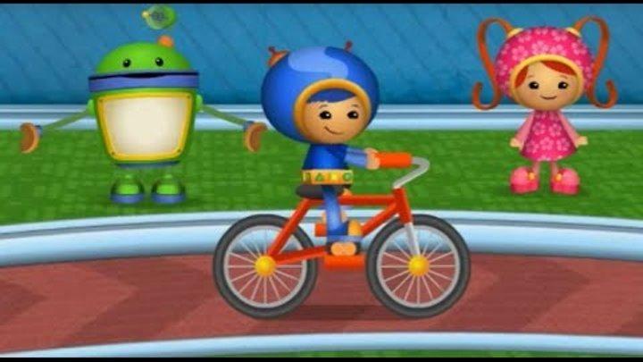 Мультик игра команда умизуми на русском смотреть, Гонки на велосипеде все серии подряд #мультик