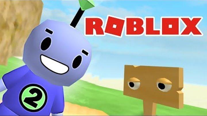 ПРИКЛЮЧЕНИЯ маленького РОБОТА в ROBLOX | Красочная мультяшная игра для детей | ЖЕСТЯНКА