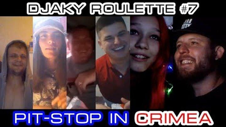 ЧАТРУЛЕТКА РАЗВОД НА АНГЛИЙСКОМ ЯЗЫКЕ Djaky Roulette #7: Pit-stop in Crimea