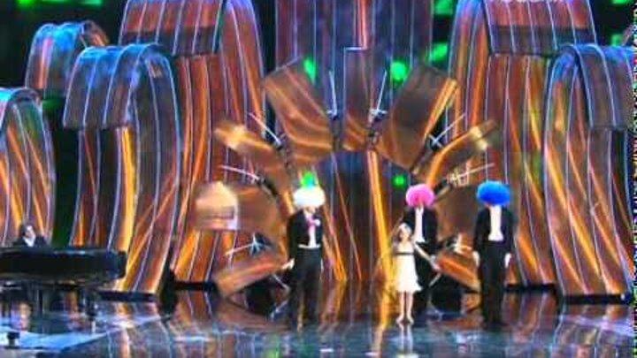 Дмитрий Маликов и Стефания Маликова на Детской Новой Волне 2008 музыка из кф Игрушка