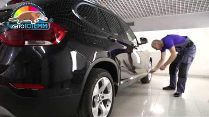 """Комплексный ремонт за 5 часов BMW X1 в """"АвтоТОТЕММ"""" на Павелецкой"""