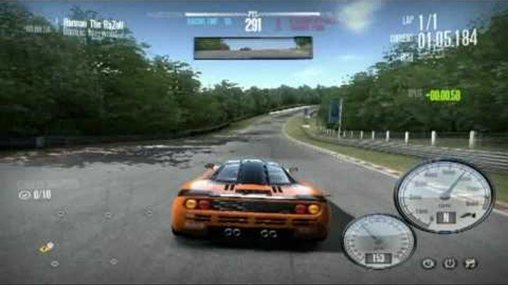 NFS Shift - McLaren F1 Vs. Mercedes SLR 722 (Tier 4 Career Invitational Driver Duel Race) [HD]
