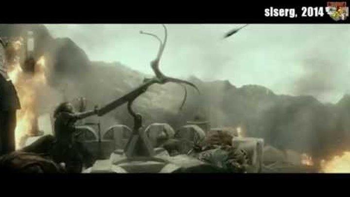 """Эпизод фильма """"Хоббит - 2. Пустошь Смауга"""" и песня В.С. Высоцкого """"Снайпер"""""""