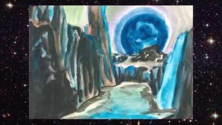 Космос в детских рисунках, посвящается 12 апреля, Всемирному дню Косомнавтики