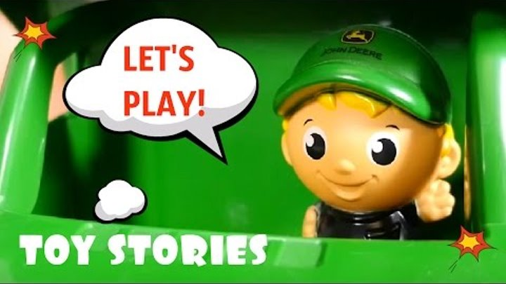 Kid's games with toys and toy cars in educational videos for kids. Toy stories in kid's videos