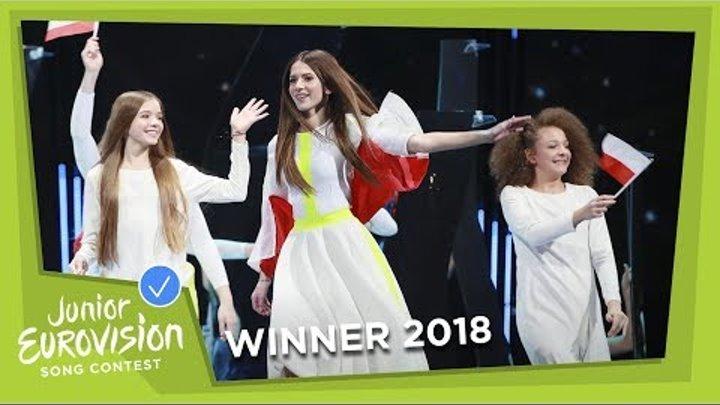 Roksana Węgiel - Anyone I Want To Be - LIVE - Poland - Junior Eurovision 2018