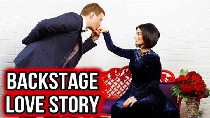 Романтическая фотосессия , видео со съёмок , Любовь. Love Story BackStage ЛюбаСик и Антон