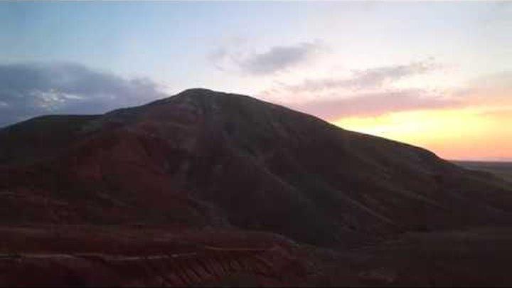 Гора Богдо Астраханская область. Sony action cam x3000