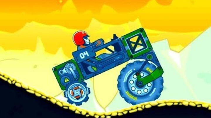 RoverCraft: большое колесо