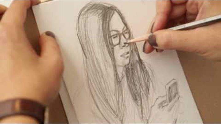 Уроки рисования от Art Metier. Как научиться рисовать карандашом поэтапно. Уроки рисования.