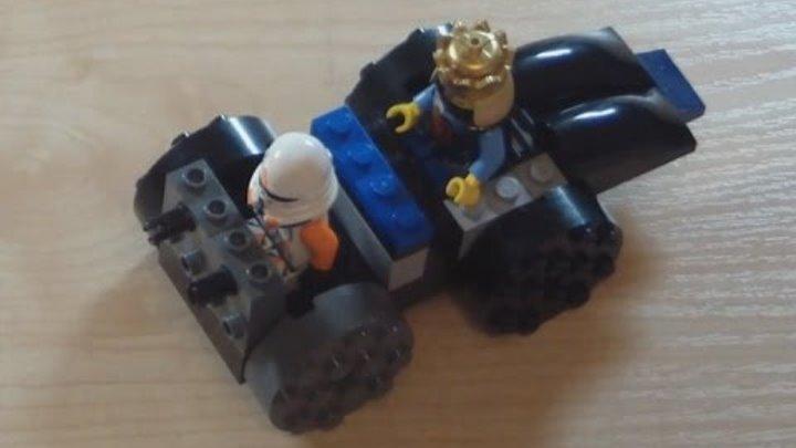 Как собирать свою машинку из конструктора Лего. Видео для детей. | How to make a LEGO car