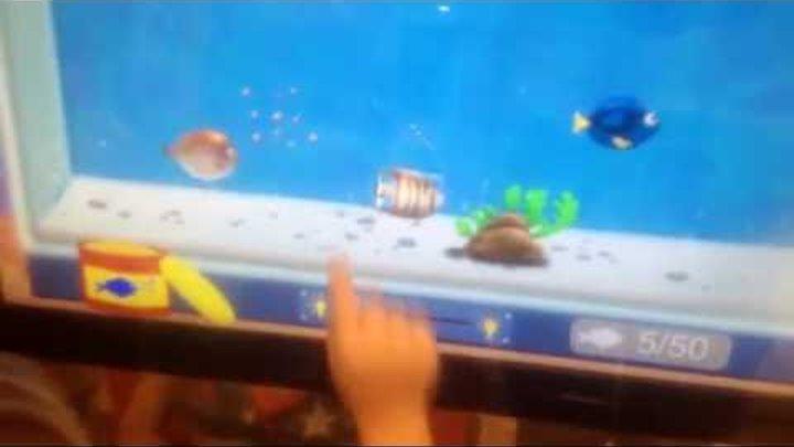Огромный планшет. Детские игры. Аквариум с рыбками